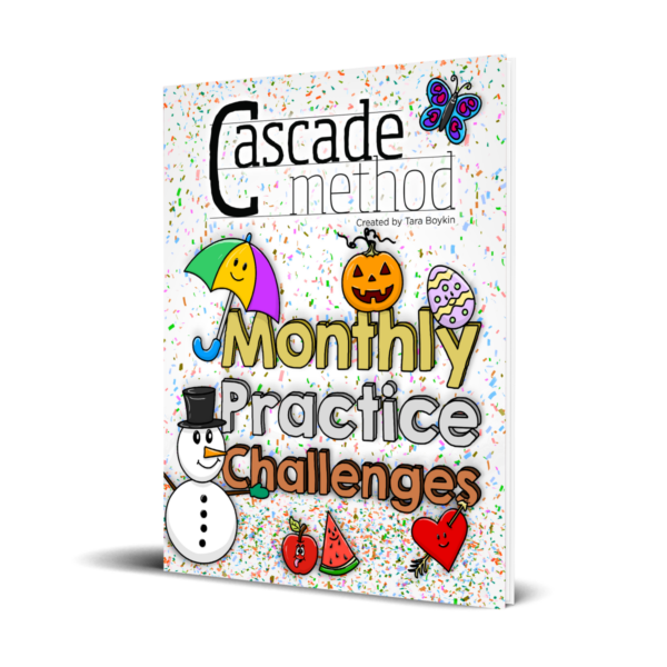 Monthly Practice Piano Book for Children