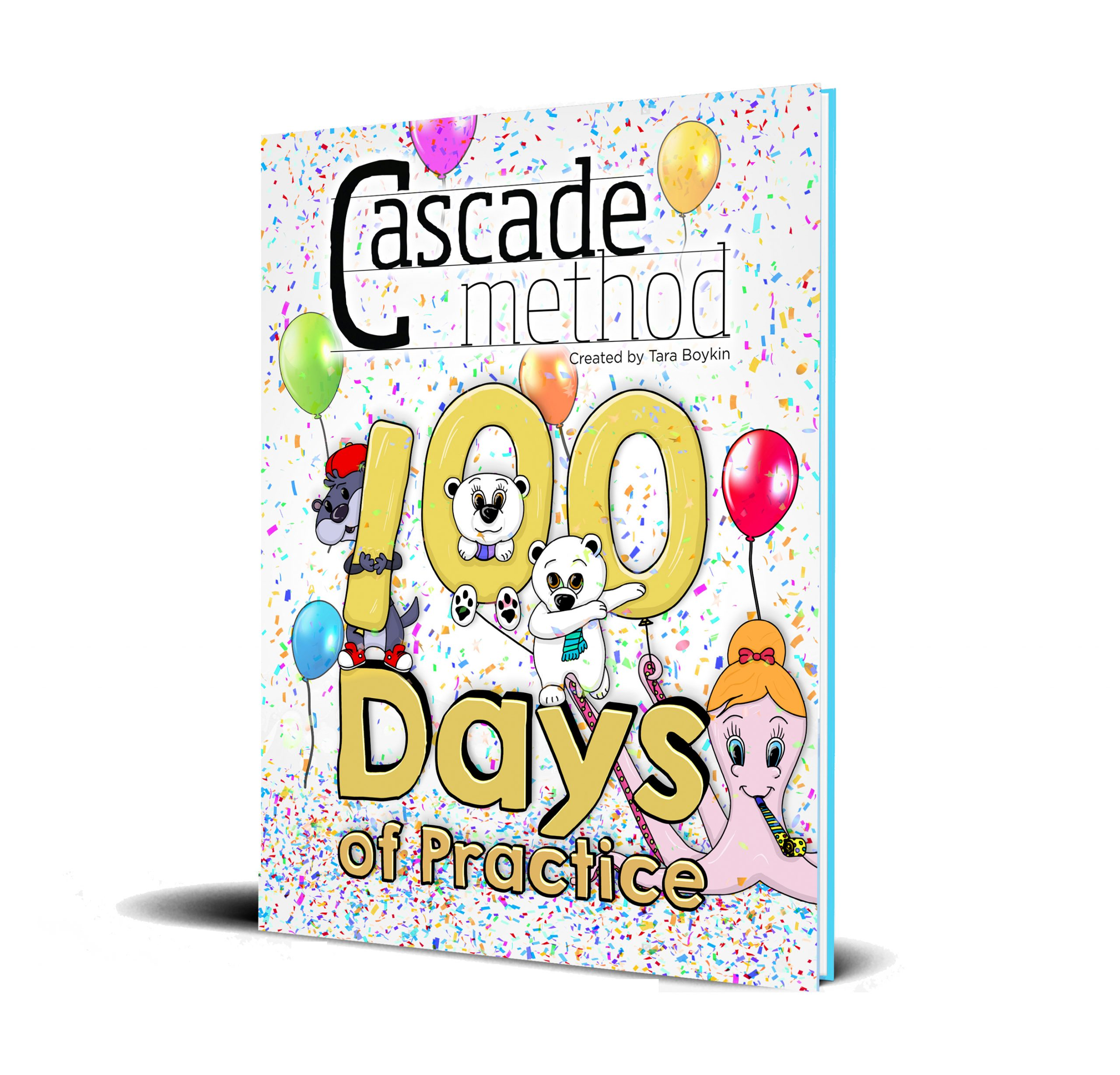 The Cascade Method 100 Days to Practice Piano Book Cover