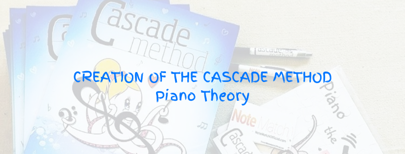The cover of The Cascade Method Piano Theory