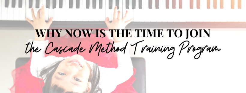 Join the Cascade Method Training Program Banner