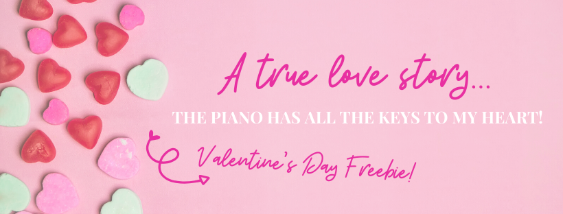 The Piano Has All The Keys to My Heart Banner