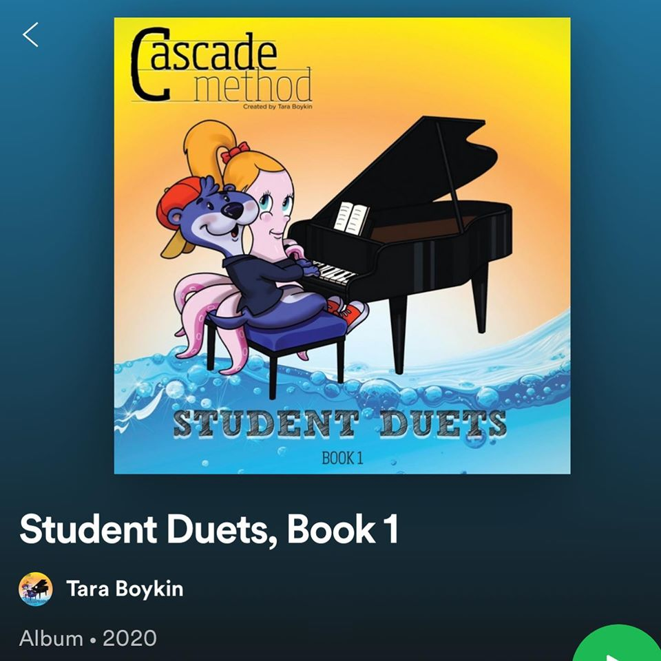 Student Duets Spotify Playlist