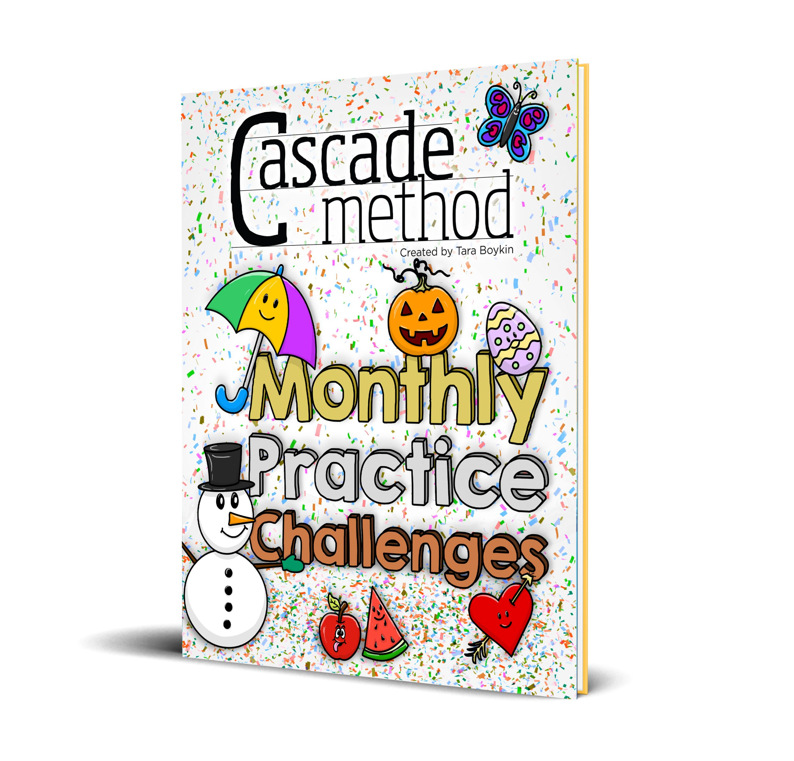 The Cascade Method Monthly Practice Challenges Book