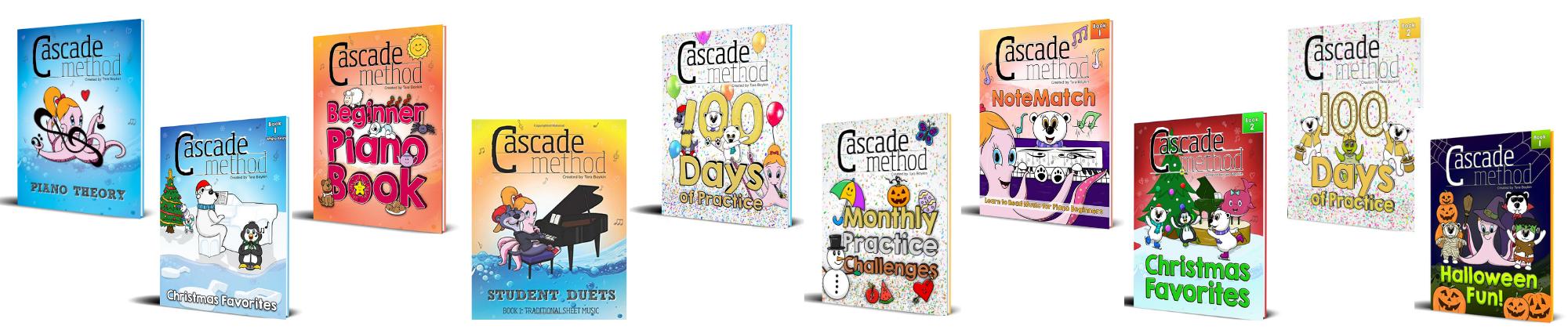 The Cascade Method Piano Book Collection