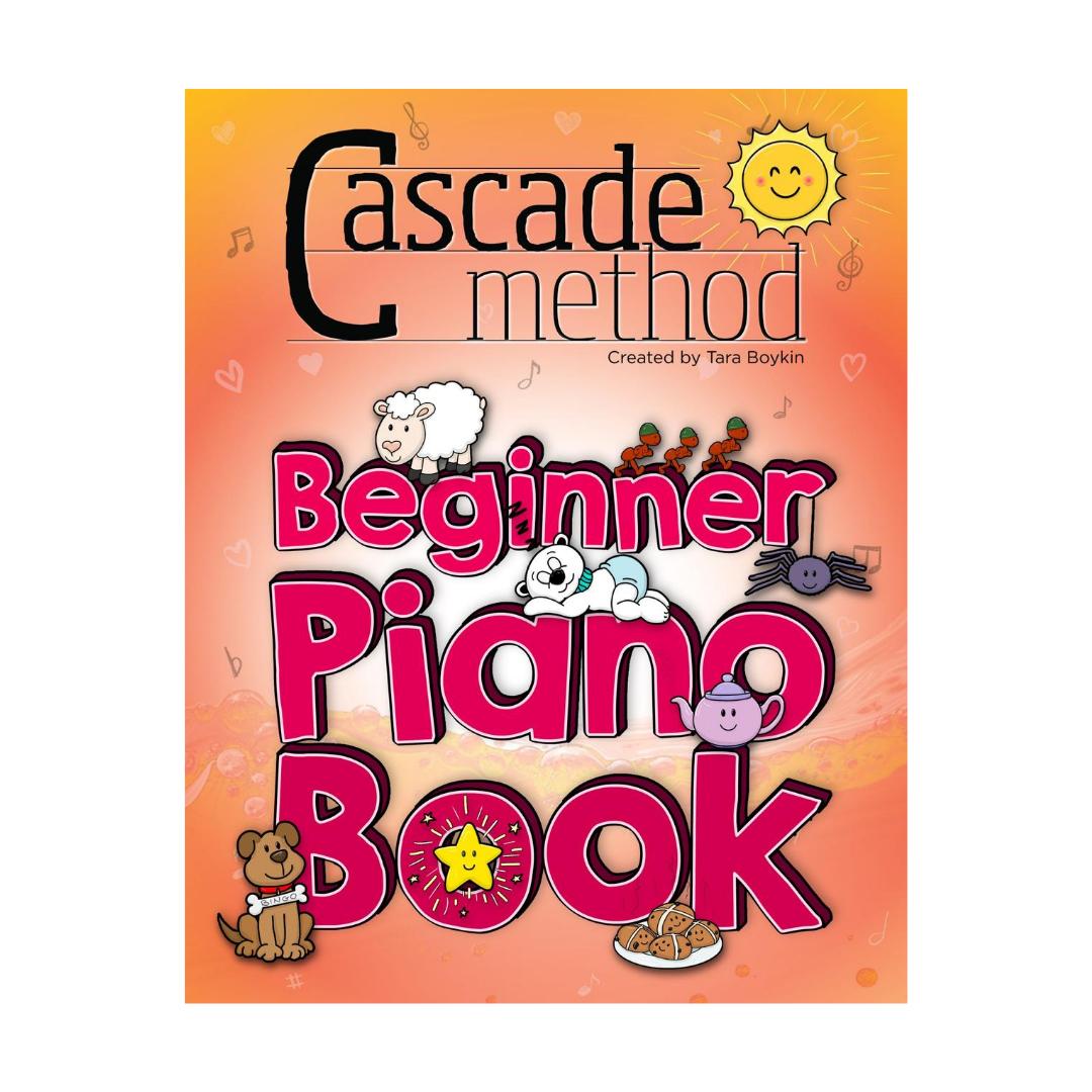 Cascade Method Books Beginner Piano