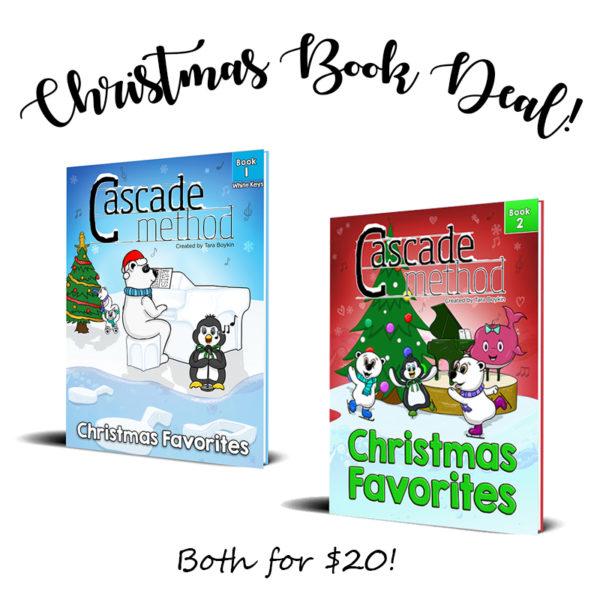 Cascade Method Christmas Favorites Books Sale