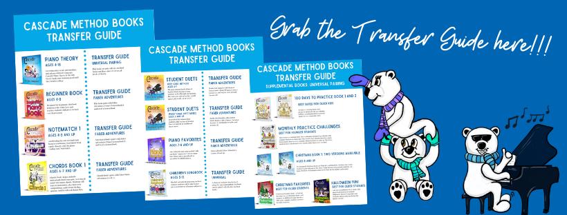 Cascade Method Books Transfer Guide