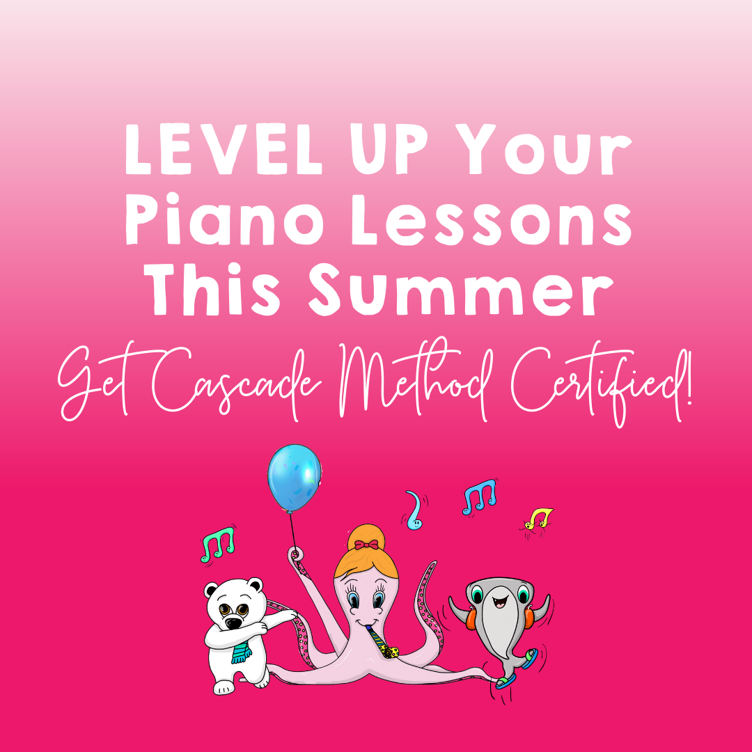 Level Up Your Piano Lessons This Summer by Taking This Online Teacher Program