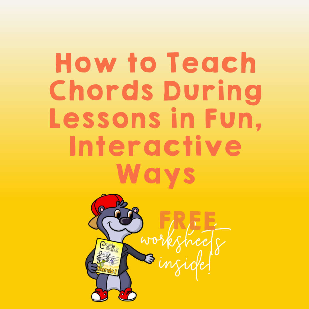 How to teach chords during piano lessons