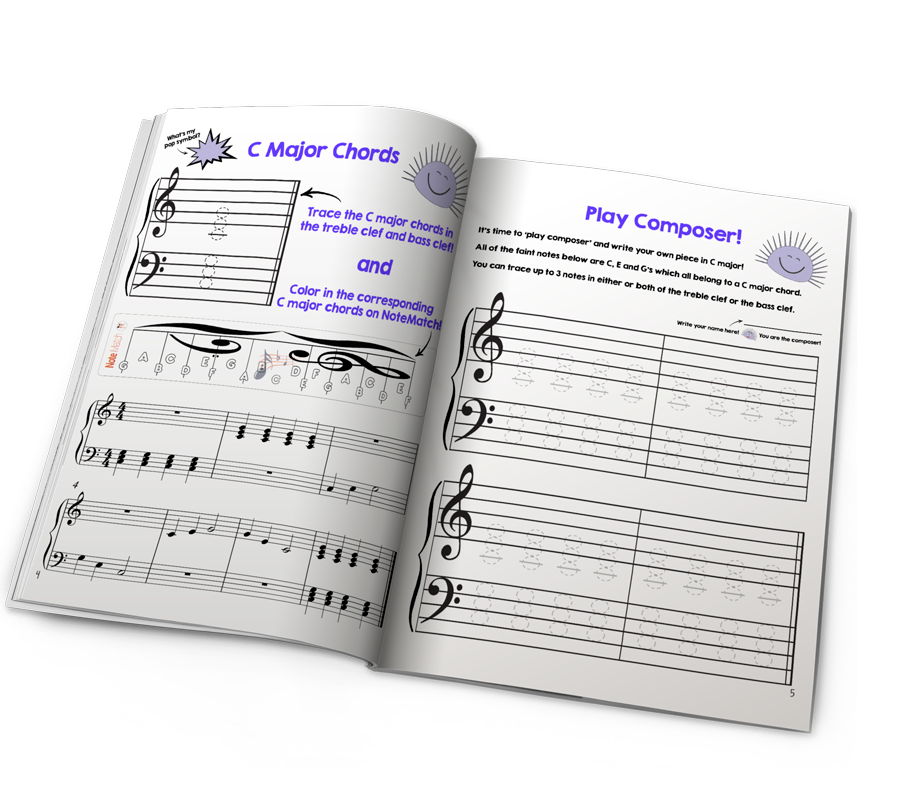 chords children's piano book