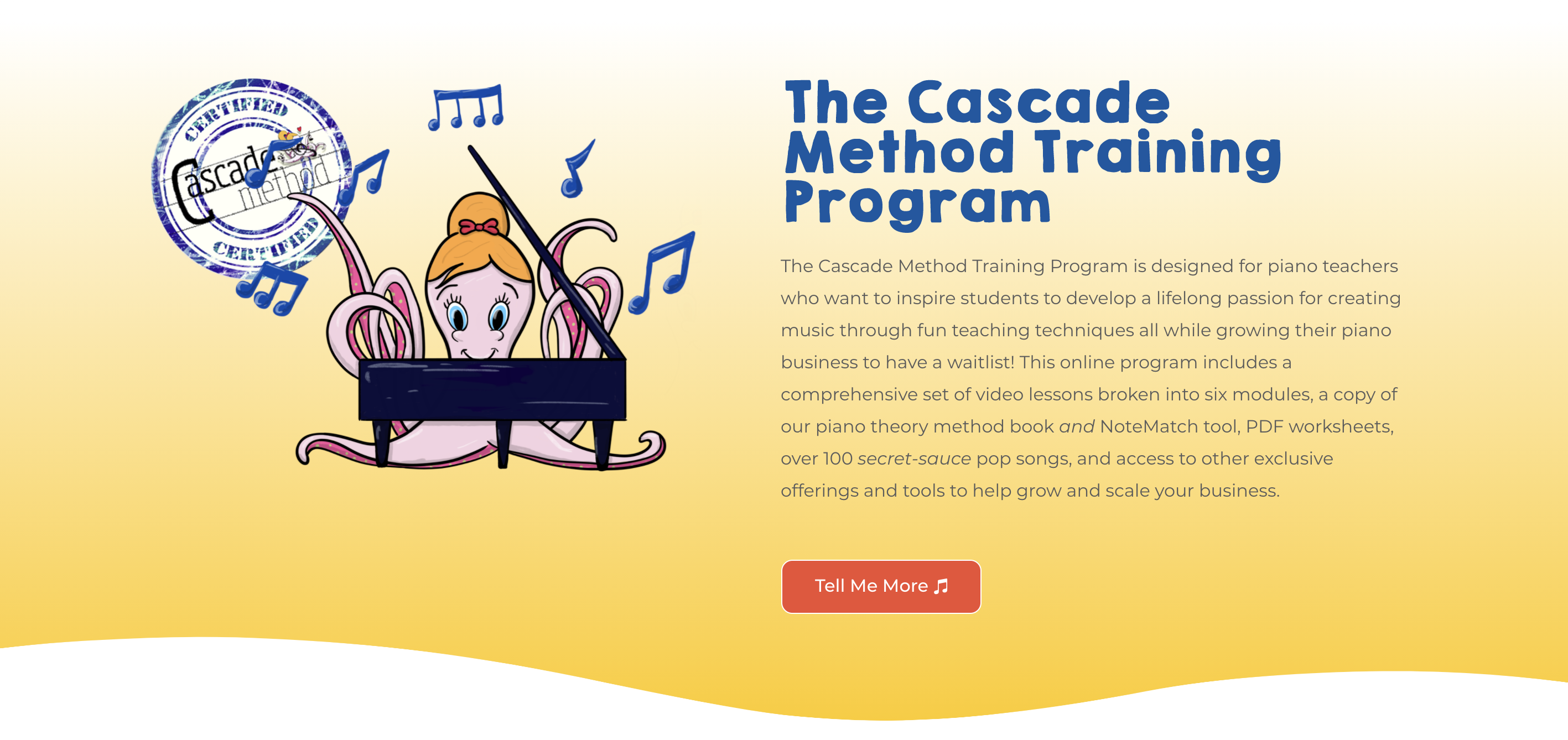 Cascade Method Teacher Training Program